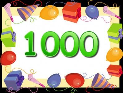 free 1000