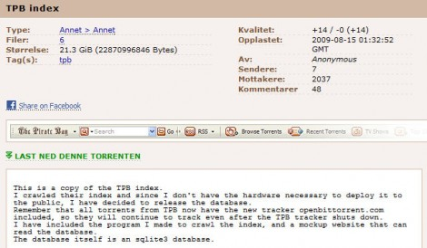 The Pirate Bay download